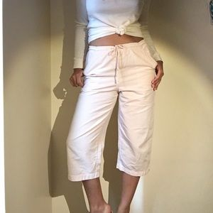 Vintage baby pink cropped pants